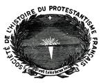 Logo Société de l'histoire du protestantisme français