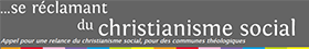 Logo Christianisme social