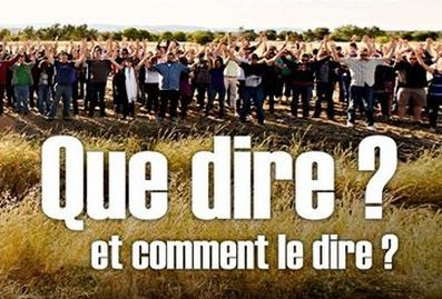 "Colloque : ""Que dire ? Comment le dire ?"""