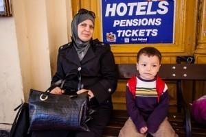 Réfugiés en quête d'asile