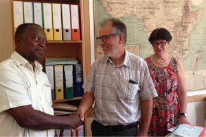 Eglise du Bénin : le Défap reçoit le secrétaire général