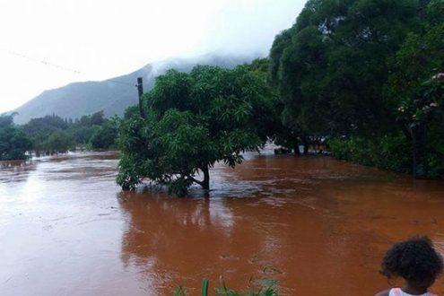 Le lycée protestant Do Neva sous les eaux