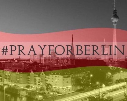 Unis dans la prière pour Berlin