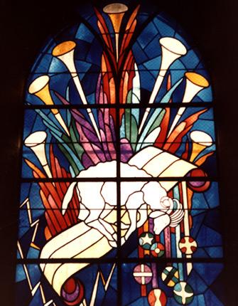 Les vitraux de Jean-Pierre Brétegnier