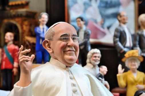 Pape, papotages et parole