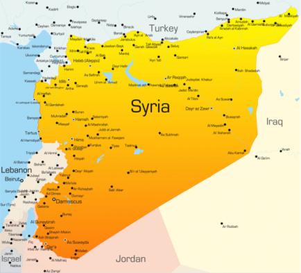 Syrie, en guerre depuis bientôt quatre ans
