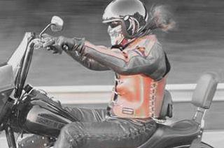 Un biker pas comme les autres