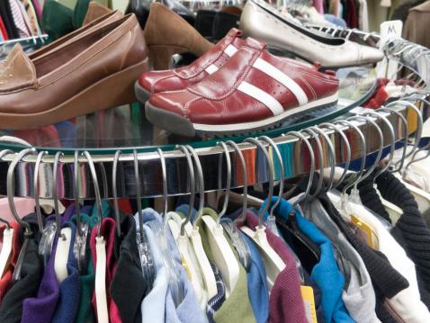 Concurrence dans le secteur des vieux vêtements