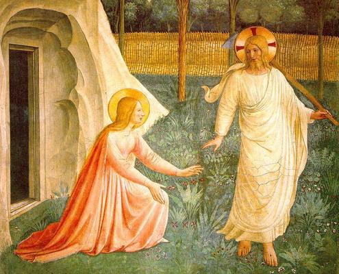 Noli me tangere, de Fra Angelico