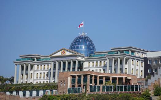 Relève à Tbilissi