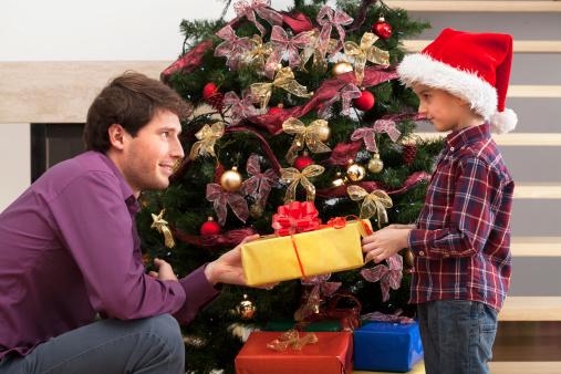 La «fête» de Noël d'un papa solo
