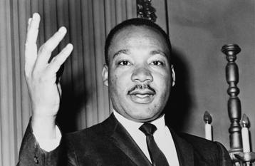 25 février 1948. Martin Luther King est consacré pasteur de l'église baptiste.
