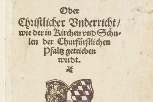 Réédition du Catéchisme de Heidelberg