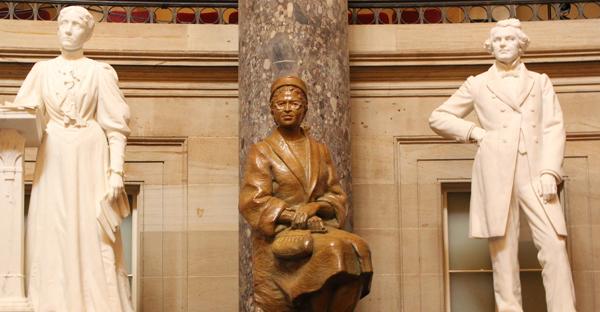 Rosa Parks trône désormais au Capitole