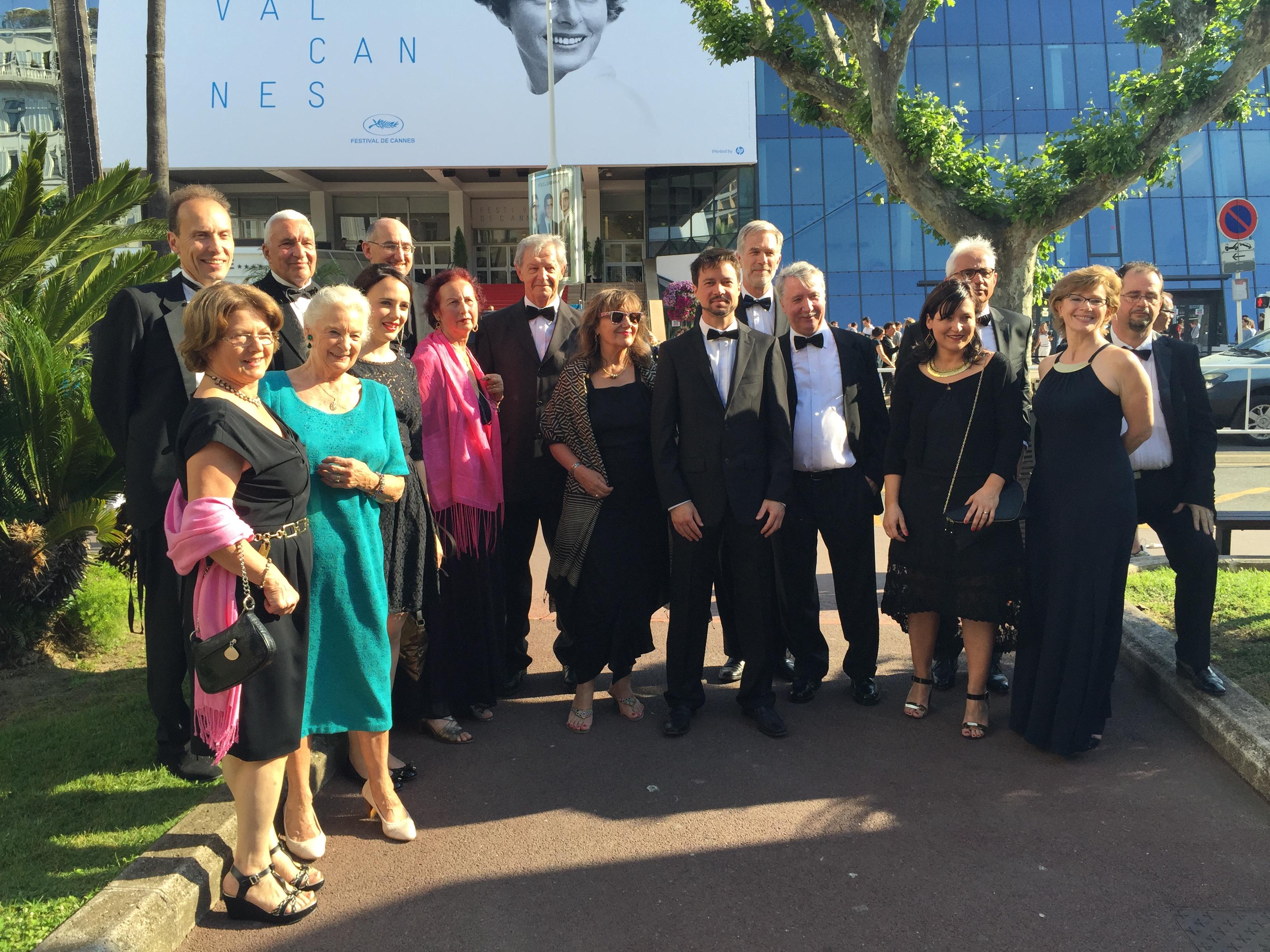 Le jury œcuménique à Cannes