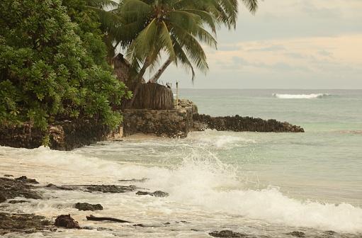 Les îles face à la montée des eaux