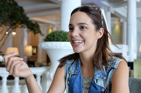 """Laetitia Guarino: """"la vie n'est pas drôle si vous planifiez tout."""""""