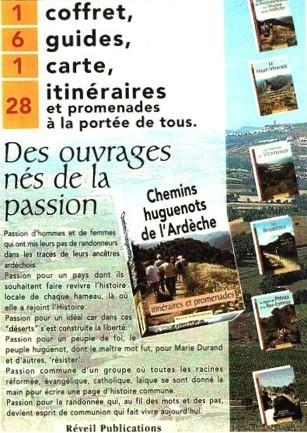 Patrimoine huguenot d'Ardèche