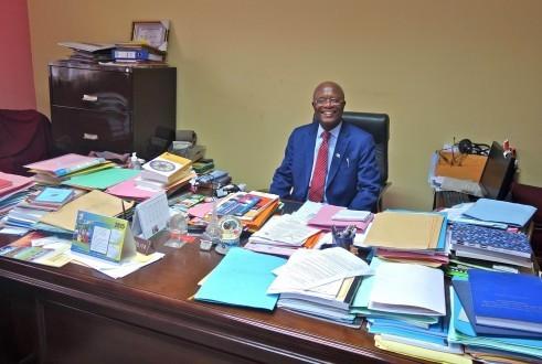 le recteur de l'Université Protestante au Congo