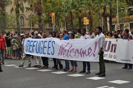 Solidarité envers les réfugiés et migrants