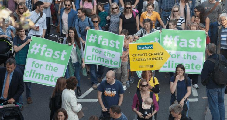 Ensemble pour le climat, jeûnons pour le changement !