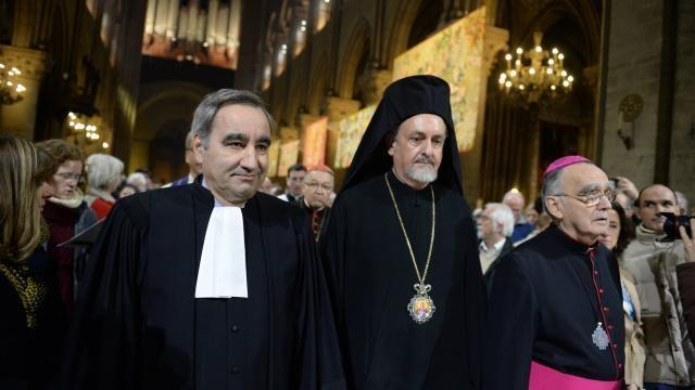 COP21. A Notre-Dame, les chrétiens du monde au chevet de la planète.