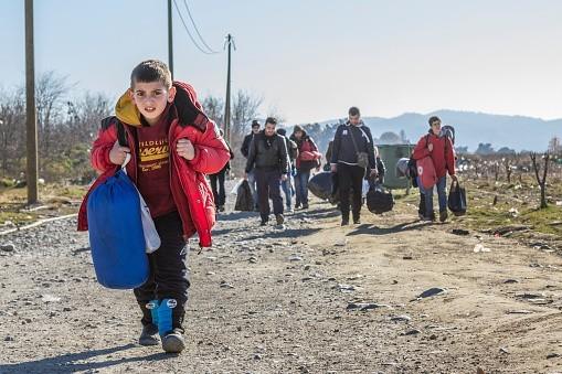 Solidarité avec les migrants