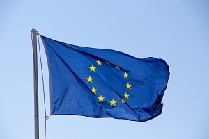 8 décembre 1955. Le drapeau européen