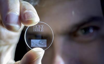 La bible sauvegardée pour 14 milliards d'années