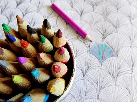 Le coloriage pour adultes