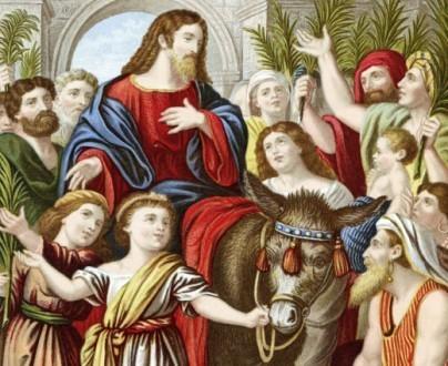Jésus à Jérusalem, un roi de la paix