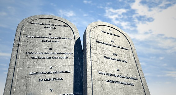 """Les dix commandements : """"Honore ton père et ta mère"""""""