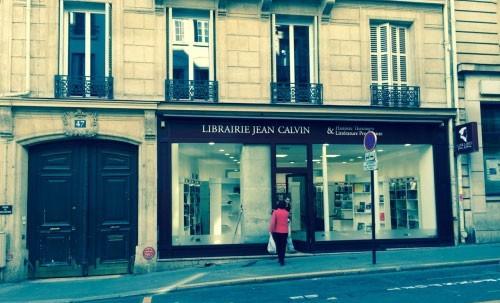 Ouverture de la librairie Jean Calvin à Paris