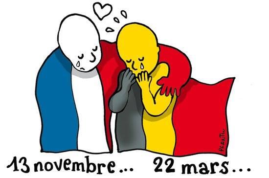 Réaction aux attentats à Bruxelles