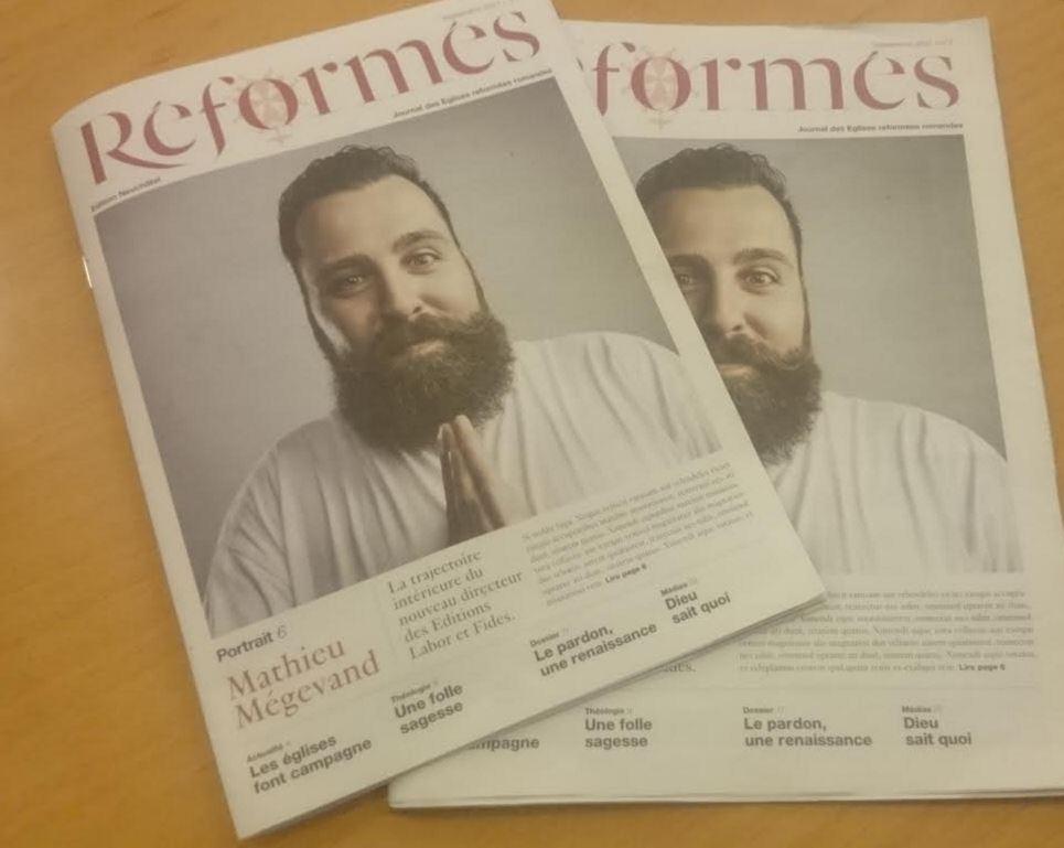Les journaux réformés romands fusionnent !