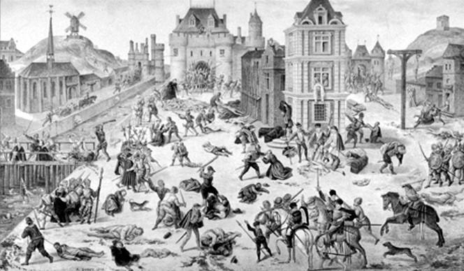 La Saint-Barthélemy (24 août 1572)