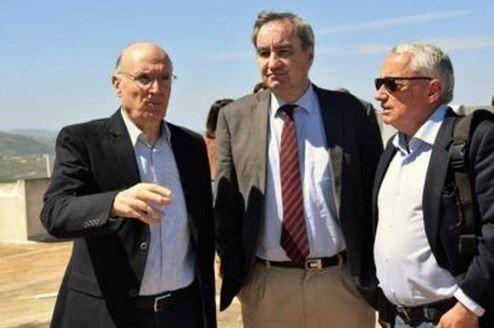 François Clavairoly en visite au Liban
