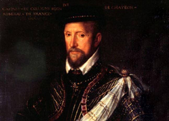 L'amiral Gaspard de Coligny