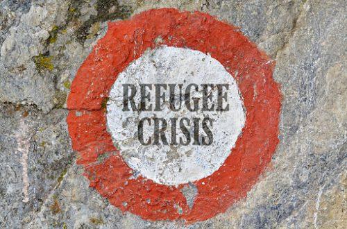 Réfugiés climatiques en détresse