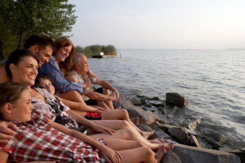 La famille, priorité de leurs vacances