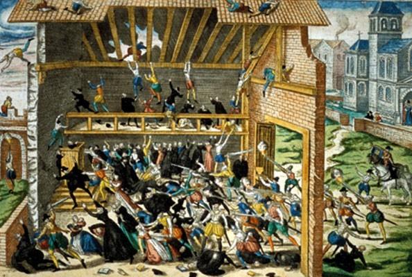 """1er mars 1562 : massacre de Wassy et début des guerres de """"religion"""""""