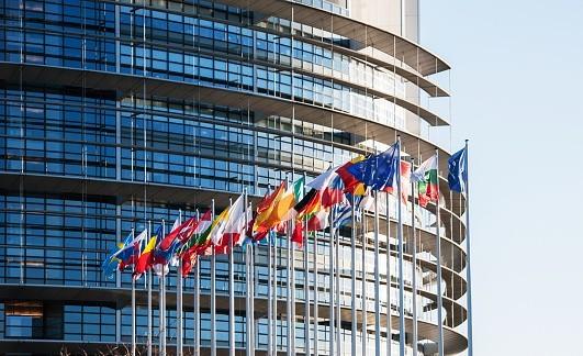 Manifestation devant le Parlement européen en faveur des chrétiens persécutés au Pakistan