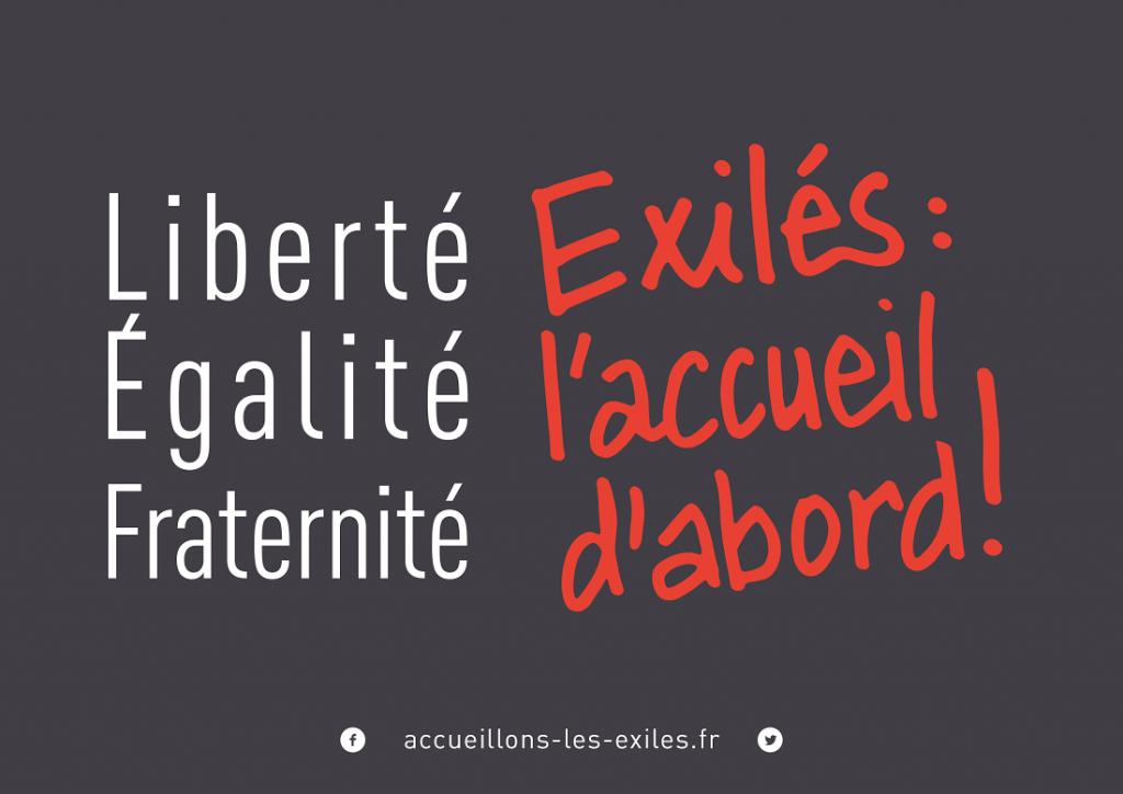 """Une campagne pour accueillir les """"exilés"""""""