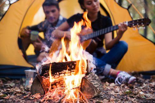 Activité biblique au camping