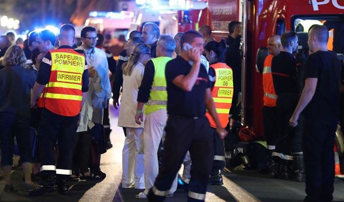 Prière et solidarité avec Nice