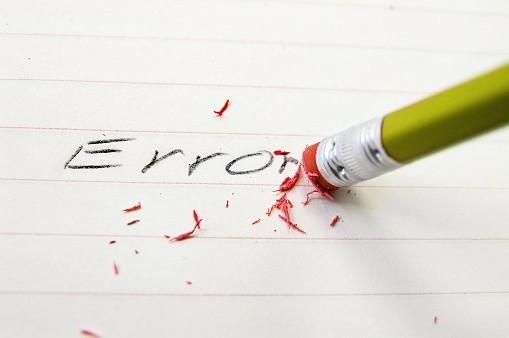 Réhabilitons le droit à l'erreur dans nos vies