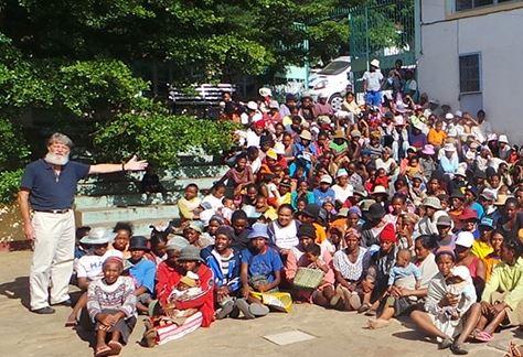 Père Pedro, le « père des pauvres » à Madagascar