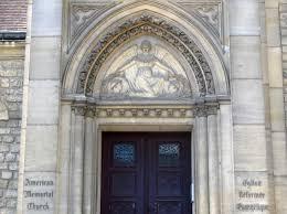 13 août 1922. Première pierre du temple de Château-Thierry