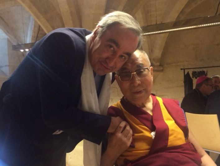 Rencontre interreligieuse avec le Dalaï Lama