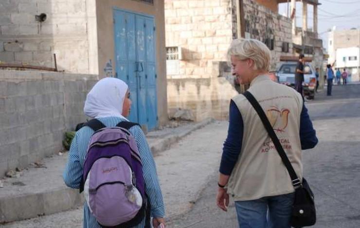 Une nouvelle accompagnatrice œcuménique en Israël-Palestine